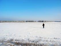 одно в поле Стоковая Фотография RF