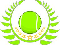 Одно в теннисе Стоковое фото RF