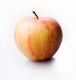 Одно желтое яблоко Стоковая Фотография