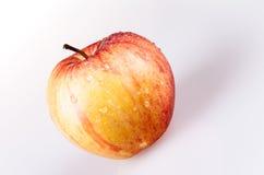 Одно желтое яблоко Стоковое Изображение