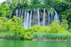 Одно из самых красивых мест в мире Plitvice - Хорватии Стоковые Фотографии RF