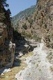 Gorge Samaria Стоковые Изображения RF