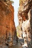 Gorge Samaria Стоковое Изображение RF