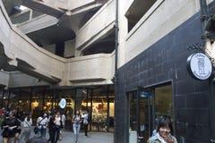 Одно из Shanghais меньшие - известные архитектурноакустические ориентир ориентиры: скотобойня 1933 Стоковая Фотография RF