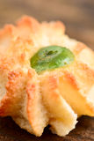 Печенье миндалин с candied плодоовощ Стоковые Фото