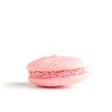Одно розовое печенье миндалины (macaroon) Стоковое Фото