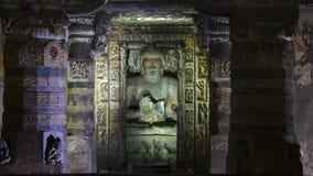 Одно с размышляя Буддой Стоковая Фотография