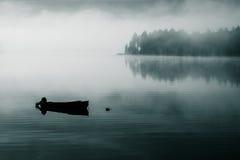 Одно туманное утро Стоковые Изображения RF
