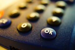 Одобренная кнопка Стоковое Изображение RF
