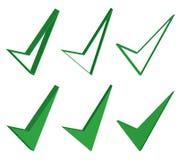 Одобренный, хороший, или одобренный знак Стоковая Фотография RF