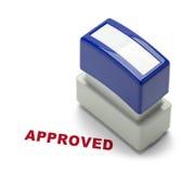 Одобренный Stamper Стоковое фото RF