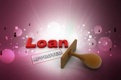 Одобрил заявку на кредит бесплатная иллюстрация