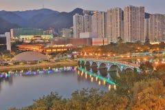 Олово Sha, Гонконг Стоковые Изображения