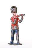 Оловянный солдатик - дворцовая стража с винтовкой стоковые фотографии rf