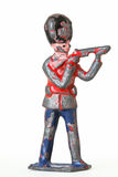 Оловянный солдатик - дворцовая стража с винтовкой стоковые изображения