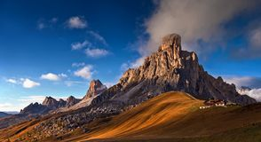 доломиты Италия стоковая фотография rf
