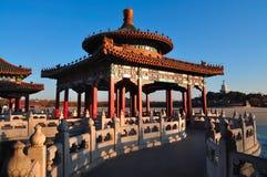 Павильоны 5-Дракона парка Beihai Стоковые Фотографии RF