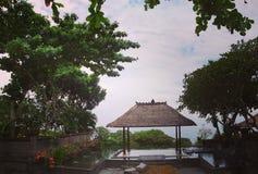 Павильон, Бали стоковые изображения rf