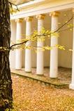 Павильон в парке осени Стоковая Фотография RF