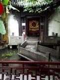 Павильон залы TCM Huqingyu старинных зданий Стоковые Фото
