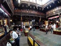 Павильон залы TCM Huqingyu старинных зданий Стоковая Фотография