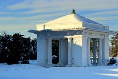 Павильон зимы Snowy Стоковая Фотография RF