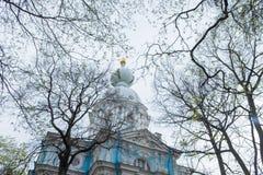 Павильон обители в Tsarskoye Selo, Санкт-Петербурге, России Стоковое Изображение RF