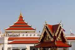 павильон Таиланд Стоковое фото RF