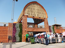 павильон 2010 Индии экспо shanghai стоковое изображение