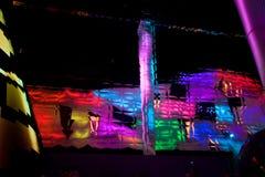 павильон 2010 экспо будущий shanghai стоковые фотографии rf