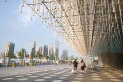 павильон 2010 экспо корпорации shanghai Стоковые Фотографии RF