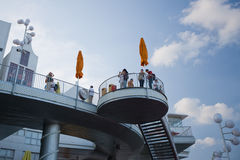 павильон 2010 экспо нидерландский shanghai Стоковые Фотографии RF