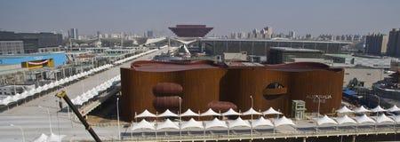 павильон 2010 экспо ausralia shanghai стоковая фотография rf