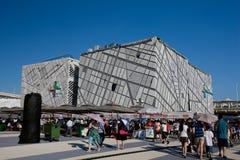 павильон 2010 экспо shanghai Швеция стоковое изображение rf