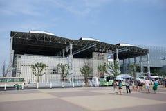 павильон 2010 японии индустрии экспо shanghai Стоковое Изображение RF