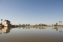 павильон m marrakesh Марокко nara Стоковое Изображение RF