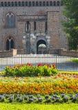 Павия, замок стоковые фото