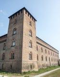 Павия, замок стоковая фотография