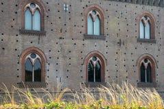 Павия, замок Стоковое фото RF