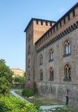 Павия, замок стоковые изображения