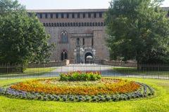 Павия, замок стоковая фотография rf
