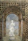 Павия (Италия): исторический суд стоковые изображения