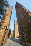Павия, средневековые башни Стоковые Изображения