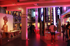 Павильон Анголы на экспо 2015 в милане Италии Стоковые Фотографии RF