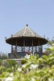 Павильон в дворце воды Taman Soekasada Ujung Стоковое Изображение