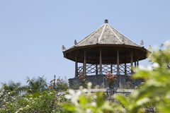 Павильон в дворце воды Taman Soekasada Ujung Стоковое Изображение RF