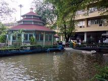 Павильон в университете SuanDusit Стоковое фото RF