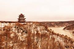 Павильон на холме Стоковое Фото