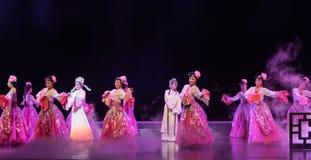 """Павильон пиона сада- пиона--мечты opera""""four Цзянси  linchuan†Стоковые Фотографии RF"""