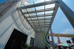 Павильон Словакии на экспо мира Шанхая Китае 2010 Стоковая Фотография RF